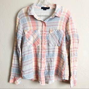 "Sanctuary ""Tomboy"" Button Down Shirt"